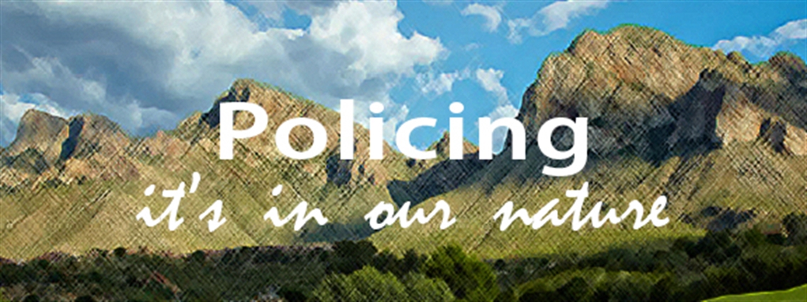 Policing, it's in our nature